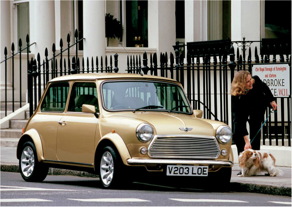 Rover Mini Knightsbridge Limited Edition