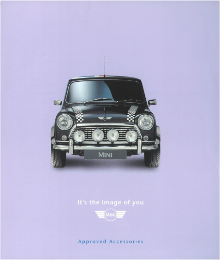 1996 Mini Accessories Brochure