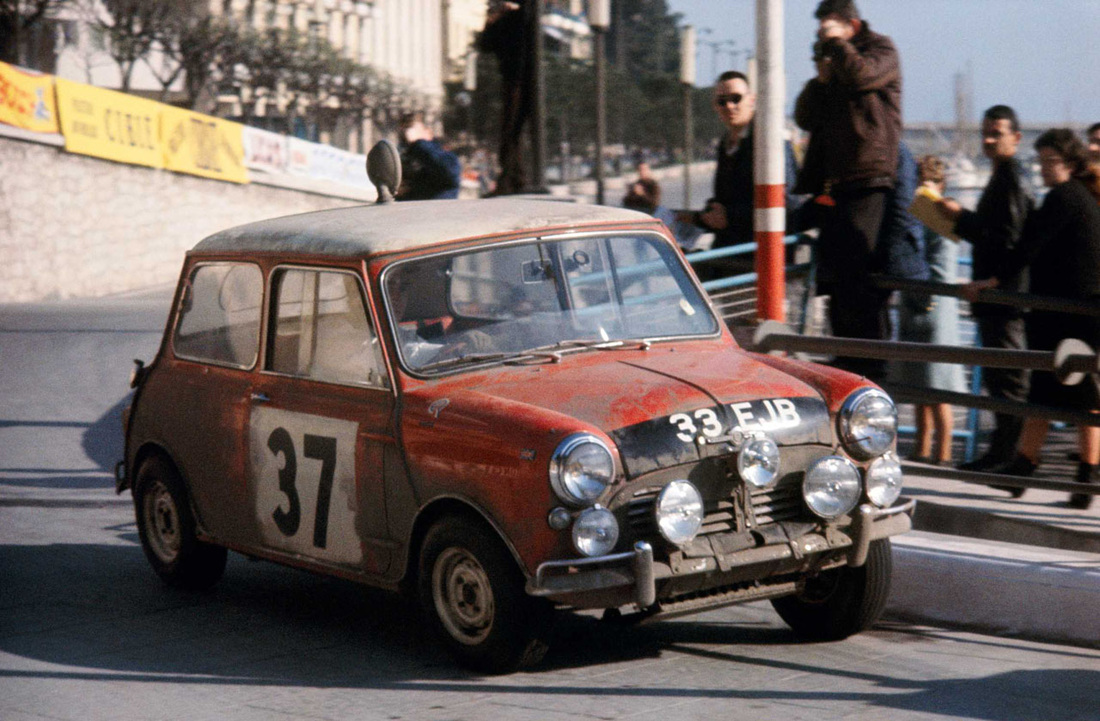 Paddy Hopkirk 1964 Monte Carlo